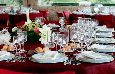 Tableware rentals with Scottsdale catering services