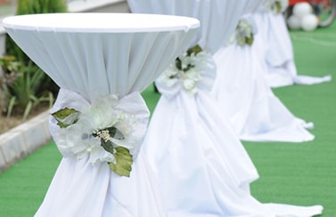 Linen rentals for wedding reception from Scottsdale catering company