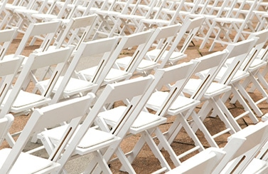 Scottsdale wedding table chair rental catering service